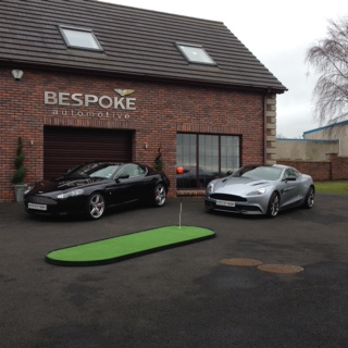 Northern Ireland Golf Expo Photo Shoot at Bespoke Autogroup
