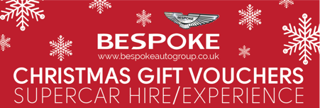 Supercar Experience Voucher for Christmas